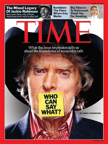 Don Imus found that humor sometimes fails to make racial insults palatable, but the cultural threads of prejudice run through society in more unexpected ways