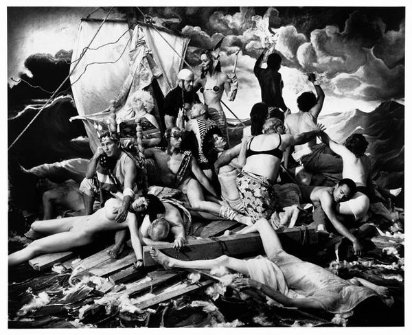 Ship of Fools by Joel Peter Witkin, or possibly the current situation in HIV/AIDS