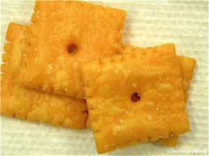 Cheezits might fall apart if they had less salt