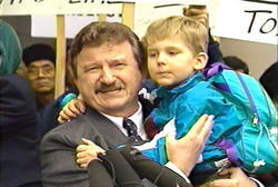 Stanislaw Burzynski has been rescuing children from radiation and chemotherapy with nontoxic remedies which seem to reliably boost the body's capacities to overcome cancer, and has many grateful adults to provide heartfelt testimony as to his achievement, as well as copious publications in the peer reviewed medical literature, and has excited envy at the NCI - but the FDA has done its best to send him to jail even as it cooperates with his trials.