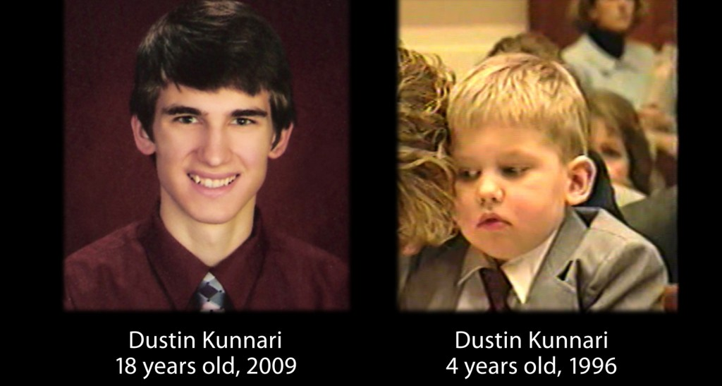 His mother broke down sobbing when recounting how her son Dustin Kinnari was saved before a Congressional enquiry in 1996, and when the film showed his current state of 18 year old health, the audience in New York City burst out clapping