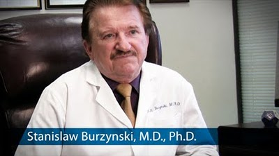 Burzynski has a rock steady air about him, and even has a sense of humor about the irrational antics of his tormenters, possibly because he knows that he is on the right track with his magic wand in cancer tumors