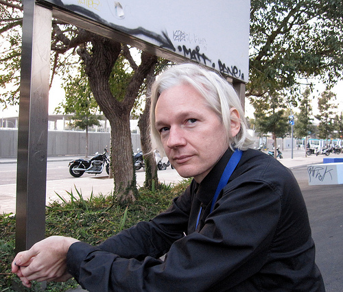 WikiLeaks Julian Assange has turned his site in just four years into the world's biggest secret buster. with ClimateGate, CopterGate and now AfghanGate to his credit.  Julian apparently believes that no large system should be allowed to keep secrets from the public, just as a matter of principle.