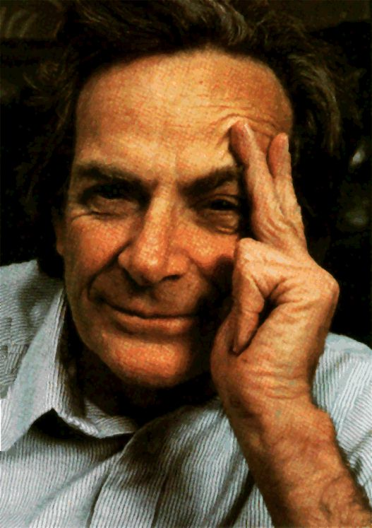 I am Richard Feynman and I approve of this blog