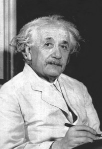 I am Albert Einstein, and I heartily approve of this blog, insofar as it seems to believe both in science and the importance of intellectual imagination, uncompromised by out of date emotions such as the impulse toward conventional religious beliefs, national aggression as a part of patriotism, and so on.   As I once remarked, the further the spiritual evolution of mankind advances, the more certain it seems to me that the path to genuine religiosity does not lie through the fear of life, and the fear of death, and blind faith, but through striving after rational knowledge.   Certainly the application of the impulse toward blind faith in science whereby authority is treated as some kind of church is to be deplored.  As I have also said, the only thing that ever interfered with my learning was my education.