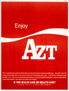 AZT - as American as Coke, in the early days of AIDS - killed off a hundred thousand or more gay activists, playwrights, composers, photographers, novelists, and other contributors to the culture of this fair democracy, according to some estimates, and one big reason for the genocide was because Lawrence Altman and other writers on the science and medicine of HIV/AIDS failed to do their duty and cover the internal scientific debate on the cause of AIDS impartially