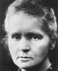 a biography of marie sklodowska and her contribution to science