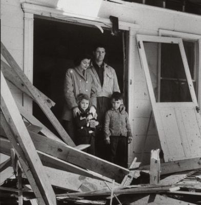 The Gregg family of Mars Bluff, S.C., whose house was damaged when the Air Force accidentally dropped an atomic bomb in their backyard. Credit Don Cravens/Time & Life Pictures — Getty Images